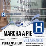 marcha a pie villafranco Hospital ok